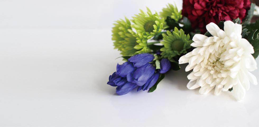 お花とお供え物の販売